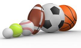 Verschillende bal vector illustratie