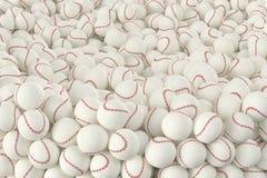 Verschillende Baseballs Stock Fotografie