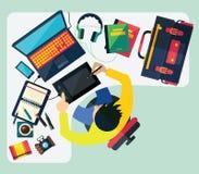 Verschillende beroepen Zaken vector illustratie