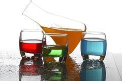 Verschillende cocktails # 3 Stock Afbeelding