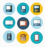 Verschillende computers vector illustratie