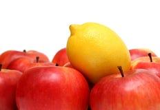Verschillende concepten met vruchten Stock Fotografie