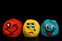 Verschillende emoties Stock Foto