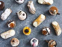 Verschillende gebakjes royalty-vrije stock foto