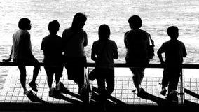 Verschillende Generatie op Vaccation Stock Foto