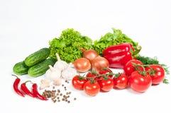 Verschillende groenten Stock Foto's