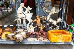 Verschillende herinneringen in Griekse giftwinkel, Griekenland Stock Afbeeldingen