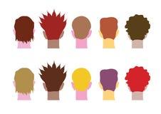 Verschillende hoofdenmensen Royalty-vrije Stock Afbeeldingen