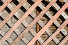 Verschillende houten texturen en patronen Stock Fotografie