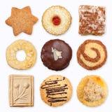 Verschillende koekjes 2 Royalty-vrije Stock Afbeeldingen