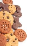 Verschillende koekjes Royalty-vrije Stock Afbeeldingen