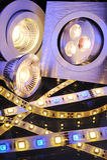 Verschillende LEDs Stock Foto