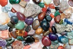 Verschillende mineralen Stock Foto's