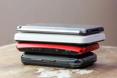 Verschillende mobiele telefoon Royalty-vrije Stock Foto's