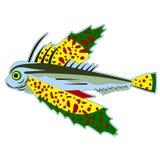 Verschillende monstervissen stock illustratie