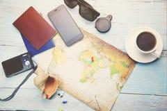 Verschillende reispunten Stock Foto