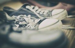 verschillende schoenen royalty-vrije stock afbeelding