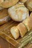 Verschillende soorten brood Stock Fotografie