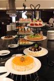 Verschillende soorten cakes Royalty-vrije Stock Afbeeldingen