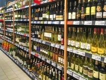 Verschillende soorten wijn Stock Fotografie