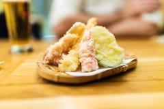 Verschillende tempuragroenten royalty-vrije stock afbeelding