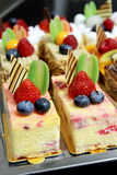 Verschillende types van cakes Royalty-vrije Stock Afbeeldingen