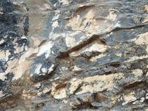 Verschillende types van rots Royalty-vrije Stock Foto