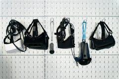 Verschillende VR-apparaten stock afbeeldingen