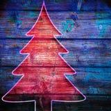 Verschillende vrolijke Kerstmisachtergrond Stock Foto's