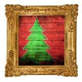 Verschillende vrolijke Kerstmisachtergrond Royalty-vrije Stock Afbeelding