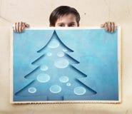 Verschillende vrolijke Kerstmisachtergrond Royalty-vrije Stock Afbeeldingen