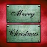Verschillende vrolijke Kerstmisachtergrond Stock Foto
