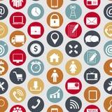 Verschillende zaken, financiën en mededeling Stock Afbeelding