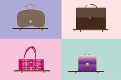 Verschillende zakken Royalty-vrije Stock Fotografie