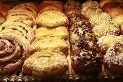 Verschillende zoete broodjes Royalty-vrije Stock Fotografie