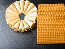 Verschillende Zoete Cakes Stock Foto's