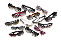 Verschillende zonnebril Stock Foto