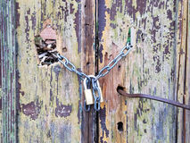 Verschlossene tür  Verschlossene Tür Stockfoto - Bild: 52160556