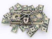 Verschlossene Rechnungen Lizenzfreie Stockfotos