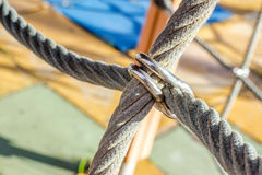 Verschlossene Seile stockfotos