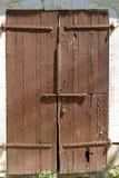 Verschlossene Tür lizenzfreie stockfotos