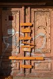 Verschlossene Tür Stockfoto