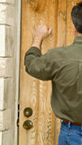 Verschlossene Tür Stockfotos