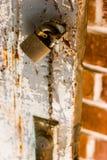 Verschlossene Tür Stockfotografie