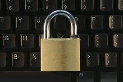 Verschlossene Tastatur Stockfoto