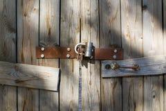 Verschlossener Eingang Stockfoto