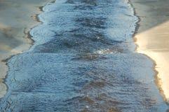 Verschmutztes Wasser-Wien-Fluss Lizenzfreie Stockfotografie