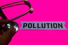 Verschmutzung auf dem Papier mit Medicare-Konzept lizenzfreie stockfotos