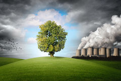 Verschmutzung der Umwelt lizenzfreie stockfotos