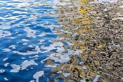 Verschmutzung des Wassers Lizenzfreie Stockbilder